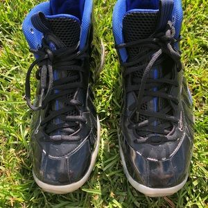 Nike little posite space jam shoes youth 5.5